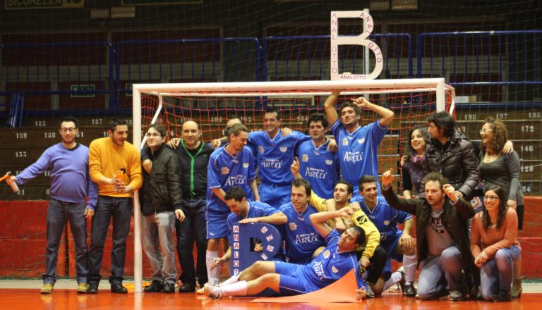 Analotto Real Reggiano primi classificati Serie C CSI Girone F 2011/2012 PROMOZIONE IN SERIE B